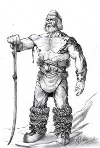 dacian warrior falx