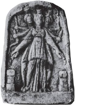 Image of the Goddess Hekate from Plovdiv Bulgaria