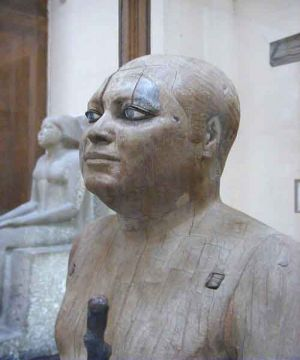 Sheik-el-Beled-Statue of Ka-Aper Known as Sheikh El-Beled1