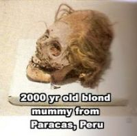 White Peruvian mummies