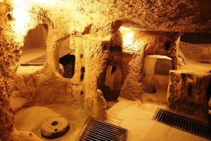 underground cities in Turkey