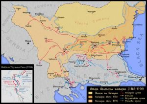Second Bulgarian Empire 1185-11961